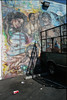 La Vida Loca gangbanger minimall mural (ADMurr) Tags: cbc317 la macpark minimall mural cinderblock leica m4 kodak ektar