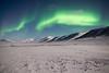 Aurora 7 (mukundbhudia) Tags: aurora borealis svalbard mountains arctic snow ice nature