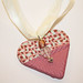 Valentine Heart Pendant at bitsofclay.com