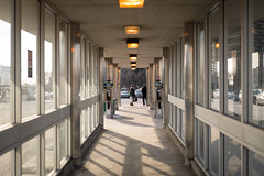 Journey's End (cookedphotos) Tags: 2018inpictures toronto ontario canada canon 5dmarkiv streetphotography ttc subway islington pickup parking parkinglot perspective 365project p3652018 commute commuter