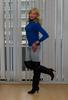 Jeans. (sabine57) Tags: crossdressing transvestism crossdress crossdresser cd tgirl tranny transgender transvestite tv travestie drag boots highheels overkneeboots otkboots jeans bluesweater jumper