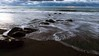 Sea over rocks, sunset Hokitika Beach New Zealand (Maureen Pierre) Tags: rocks water sea slow shutter speed slowshutterspeed hokitika beach sunset newzealand xt2 npsnz