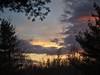 Evening framed by Trees (Steve InMichigan) Tags: sigma3570mmf2840lens panasoniclumixdmcgf3 fotasymdeflensadapter eveningsky evening sunsetglow trees mirrorlesscamera micro43