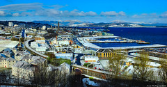 Scotland a snowy Greenock 28 February 2018 by Anne MacKay (Anne MacKay images of interest & wonder) Tags: scotland town greenock snow sunshine landscape xs1 28 february 2018 picture by anne mackay