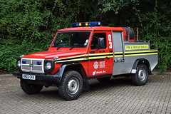 Hampshire - HN02CKA - H4T - Bordon (matthewleggott) Tags: hampshire fire rescue service appliance engine hn02cka h4t steyr puch bordon saxon s290gd
