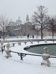 Let it snow (francesca_siccardi new profile) Tags: italy italia veneto square neve snowy snow pratodellavalle padova