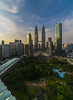 When The Sun Goes Down (Mohamad Zaidi Photography) Tags: traders skybar kualalumpur malaysianphotographer malaysia cityscape city nature sunset sun business development architecture skyscraper clouds twintower travel holiday fun family destination tourist laowa12mm sonya7r2 sonymalaysia sonyalpha sonyar7ii sonya7rii