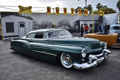 Blood Drive Car Show 2018 (USautos98) Tags: 1953 cadillac caddy caddie leadsled traditionalhotrod streetrod kustom