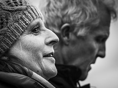 Photo Couple (Maarten Baars) Tags: manandwoman couple urbanphotography streetphotography darkness blackandwhite lovebw bnw streetshots streetphoto streettogs panasonic45175mm panasonicgx80 mirrorless micro43 microfourthirds people interestingpeople portrait streetportrait amsterdam ndsm