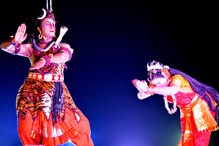 Siva thandavam from International Kuchipudi convention Hyderabad in 2014