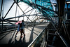 Singapore (tomabenz) Tags: urbanexplorer shadow blue urban color street photography lines asia bridge umbrella zeiss streetview human geometry sony a7rm2 singapore red humaningeometry sonya7rm2 streetphotography