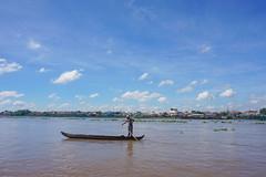 Boating in Cambodia