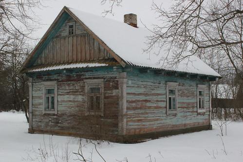 6. Хата В.К. Прыбышчука ў в. Гаравата, сучасны выгляд