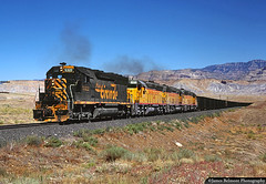 Carbondale Coal in the Desert (jamesbelmont) Tags: railway drgw riogrande cedarhill cedar utah grassy desert carbondale coal fontana kaiser california bookcliffs