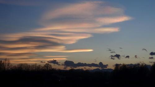 Nuvole iridescenti