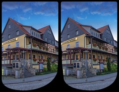 Kurhotel Bad Suderode 3-D / CrossView / Stereoscopy / HDR / Raw (Stereotron) Tags: sachsenanhalt saxonyanhalt ostfalen harz mountains gebirge ostfalia hardt hart hercynia harzgau badsuderode hotel kur spa crosseye crosseyed crossview xview cross eye pair freeview sidebyside sbs kreuzblick 3d 3dphoto 3dstereo 3rddimension spatial stereo stereo3d stereophoto stereophotography stereoscopic stereoscopy stereotron threedimensional stereoview stereophotomaker stereophotograph 3dpicture 3dglasses 3dimage twin canon eos 550d yongnuo radio transmitter remote control synchron kitlens 1855mm tonemapping hdr hdri raw