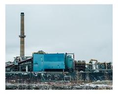 noranda (Mériol Lehmann) Tags: copper smelter mine industrial industry industries abitibi noranda smokestack