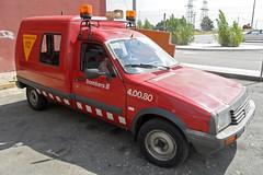 Bombers de Castellar del Vallès (bleulights) Tags: bombers de castellar del vallès 40080 citroën c15 bomberos firefighters rescue feuerwehr vigili fuoco pompiers suhiltzaileak straz pozarna