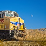 Train in Desert 5648 C thumbnail