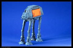 AT-ACT (painted) (Neil Tackaberry) Tags: star wars starwars atact walker model painted weathered rogueone revell plastic scifi sciencefiction 1100 neiltackaberry neil tackaberry vehicle machinery mechanical