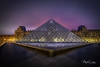 The pyramid (marko.erman) Tags: paris louvre pyramide city monument night longexposure light lavillelumière famous popular outside illumination surreal atmosphere mood moody beautiful sony