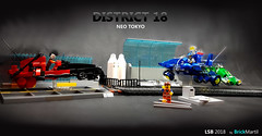 LSB 2018 - District 18 Neo Tokyo (Brick Martil) Tags: toy lego speeder bike 2018 lsb futuristic modern flyer sci fi