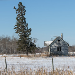 Manitoba Prairies in Winter (Keith Levit) Tags: interlake manitoba hwy7 prairies