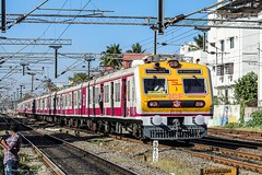 3-phase EMU, first in Chennai!! (Gautham Karthik) Tags: indianrailways train medha 3phaseemu chennai kodambakkam trainphotography railroad light trainspotting