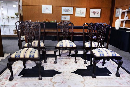 8-Piece Chairs w/ Claw & Ball Feet ($420.00)
