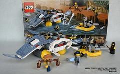 LEGO 70609 Manta Ray Bomber (KatanaZ) Tags: lego70609 mantaraybomber theninjagomovie cole shenli greatwhite sharkarmygunner lego ninjago minifigures minifigs