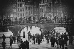 Winter Amsterdam (♥siebe ©) Tags: 2018 amsterdam holland nederland netherlands siebebaardafotografie thenetherlands canal dutch fotografie gracht ice ijs schaatsen schaatser skate winter
