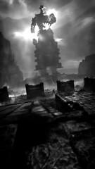 DEUS EX MACHINA (Ninjerello) Tags: shadowofthecolossus sotc remake wallpapers bluepointgames wanderer agro colossus colossi photomode ps4 sonyjapanstudios bestscreenshot