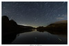 Star Trail with Meteor at Valehouse Reservoir UK (michaelmckenna11) Tags: landscape nightscape startrails star trails water reservoir meteor longexposure shootingstar valehouse peakdistrict uk sky planets astrophotography astro reflections