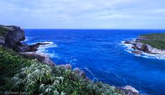 Porte d'Enfer 1 (Guadeloupe) (TravelerRauni) Tags: montagne france nature paysage nuages ciel mer guadeloupe antilles dom sky verdure vert cloud clouds cloudy eau landscape sea