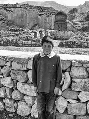 This guy wants to be a governor in the future. #2 (Streets.and.Portraits) Tags: tr school boy hasankeyf kid turkey portrait photography monochrome blackwhite bw kodak cx7530