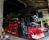 Die Dampflokomotive 52 8177 im Ringlokschuppen des Bahnbetriebswerkes Berlin-Schöneweide (Jonny__B_Kirchhain) Tags: dampflokomotive lokomotive 528177 kriegslokomotive baureihe52 rekolokomotive drbaureihe5280 ringlokschuppen lokschuppen bahnbetriebswerk bahnbetriebswerkberlinschöneweide betriebswerk tagdesoffenendenkmals denkmal berlin schöneweide berlinschöneweide treptowköpenik berlintreptowköpenik bezirktreptowköpenik deutschland germany allemagne alemania germania 德國 德意志 федеративная республика германия alemanha repúblicafederaldaalemanha niemcy republikafederalnaniemiec locomotive wheel