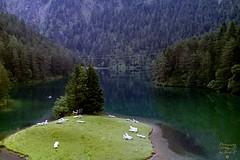 Nice mountain lake (Jurek.P) Tags: austria alps fernsteinsee lake water mountains europe mountainscape scan 35mm minoltadynax7000i jurekp