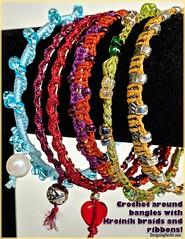 Covered Rings issue 89 (vashtirama) Tags: crochet newsletter graphic kreinik crochetbracelet bangle crochetjewelry crochetpattern blogged