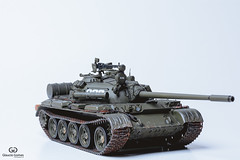 T-55A (Glaucio G. Martins) Tags: tamiya scale 135 soviet medium t55a tank models miniaturas