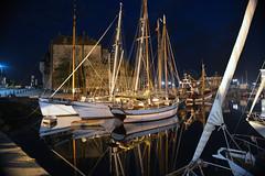 France - Honfleur - Normandie (AlCapitol) Tags: honfleur normandie nikon d800 port bateau boat illumination mer