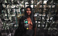 Calina Andel (Yoon-gi) Tags: sl second life model brazilian afro black cah calina andel beauty blogger art zah suga