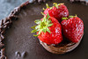 Straberry chocolate cake (Ncor: Photography) Tags: chocolate cake sugar cream sweet strawberries square soft snack plate prepared sauce slice topping candy fruit icing pastry strawberry flour egg piece chef color dough white orange coffee cooked cookie cooking cocoa calories bakery biscuit brown brownie cuisine dark garnish gourmet meal bake fresh food delicious dessert dish pie