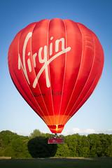 We have liftoff ... (canon.fodder) Tags: balloon hotairballoon virgin tissington bluesky summer float basket burner takeoff fly