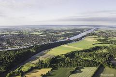 Kiel Canal / Nord-Ostsee-Kanal / Eider River, Germany (peterkaroblis) Tags: kielcanal nordostseekanal canal schleswigholstein ballonfahrt balloonride