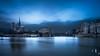 {Explore 15 01 18] Le jour d'après (www.didierbonnettephotography.com) Tags: poselongue longexposure heurebleue bluehour cathedral cathédrale notredame paris france cité city paysagesurbains cityscapes iledelacité ambiance mood crue2018