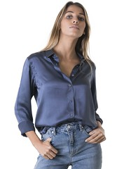 (vujo1017) Tags: satin blouse shirt silk