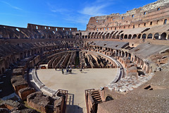 Colosseum - Rome (Thomas Roland) Tags: rome rom roma italia italy italien europe europa travel rejse holiday city by stadt flavian amphitheatre colosseum coliseum amphitheater amfiteater teater theater old historic historical roman tourist tourism destination visitors
