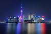 The Futuristic Shanghai Tron Skyline (Scholesville) Tags: scholesville azrinazphotographie azrinaz azrinazcom shanghai lujiazui pudong the bund china skyline city cityscape night nightscape urban longexposure slowshutter neon neonlights