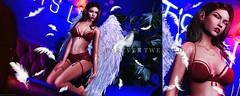 New Post: ∞Forever Twenty One∞ LOTD 498 Heaven and Hell... (Forever Twenty One Owner) Tags: catwa maitreya doux blueberry foxcity kustom9 soy fashion decor photography secondlife