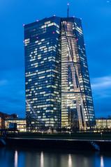 EZB bei Nacht (FMbrod) Tags: pentax k50 pentaxk50 frankfurt ffm hochhaus skyscraper hessen ezb grosmarkt pentaxlife pentaxart
